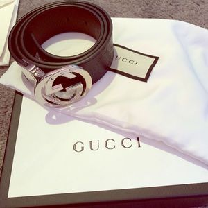 Gucci signature design belt